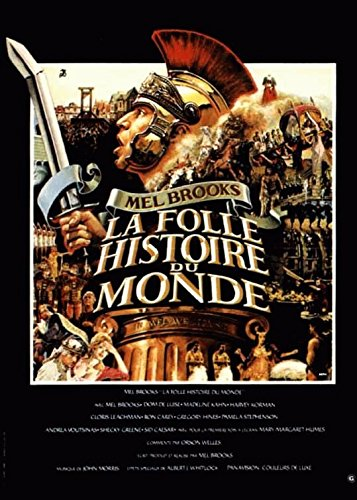 Folle La historia del mundo-Mel Brooks-116 cm x 158 Cartel ...
