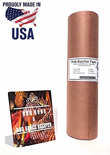 Elk Steak Grill - Anders General Store Pink Butcher Kraft Paper Roll - 18
