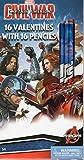 Marvel Civil War Captain America 16 Valentines With 16 Pencils