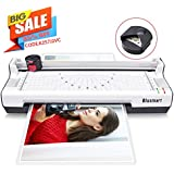 4 in 1 Blusmart OL288 Laminator Machine, A4, Rotary Trimmer/Corner Rounder/10 Laminating Pouches, White