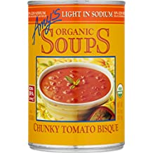 Amy's Organic Soups, Light in Sodium, Chunky Tomato Bisque, 14.5 Ounce