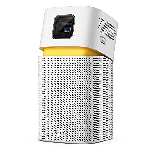 BenQ GV1 LED Portable Projector with Google Cast & AirPlay, Bluetooth Speaker, Wi-Fi (or Wireless Display), USB-C