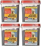 Jerky Treats Tender dgAcx Beef Strips Dog Snacks, 60 Oz (4 Pack)