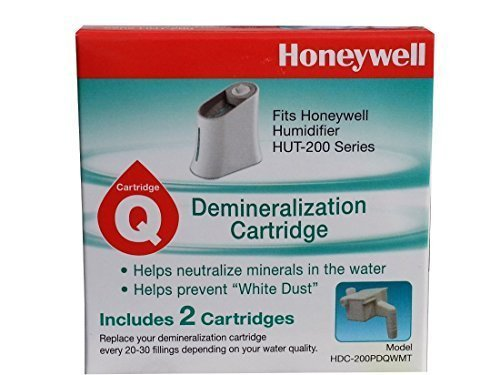 Honeywell Demineralization 2-pk Cartridge for Humidifier HUT 200 Series (Set of 3 Packs)