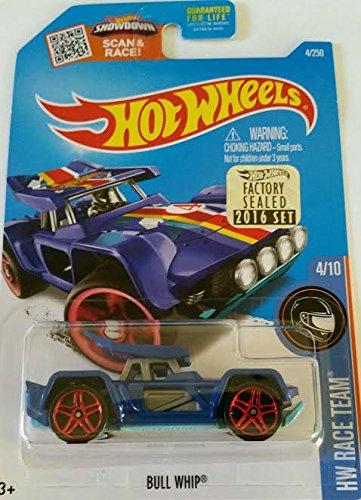 Hot Wheels 2016 Bull Whip 4/250 Pearl Blue