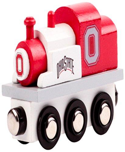 (College Team Trains NCAA Ohio State Buckeyes Kids Toy Engine, Small)