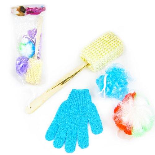 Sponge Shower Washing Loofah Scrubber
