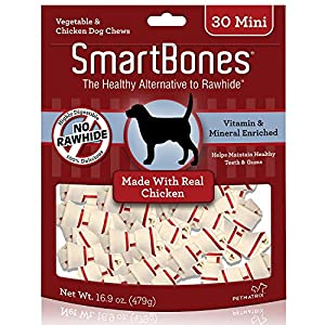SmartBones Chicken Dog Chew 25