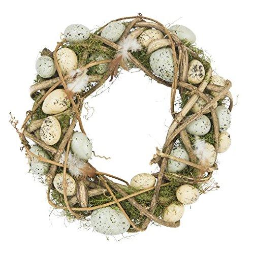 Birds Nest Easter Wreath / Centrepiece Decoration Gisela Graham @ Easter Direct