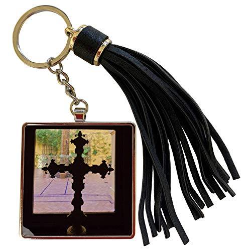 3dRose Danita Delimont - Spain - Spain, Seville, Palacio de la Condesa de Lebrija - EU27 WBI1127 - Walter Bibikow - Tassel Key Chain (tkc_139596_1)