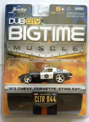 Jada Dub City Big Time Muscle '63 Chevy Corvette Sting Ray 1:64