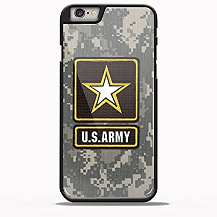 Us Army Logo Wallpaper Design IFA for iPhone 6/6s Plus Black case