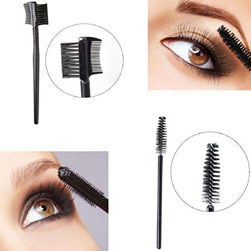 Round Head Nylon Wool Makeup Brush - 2