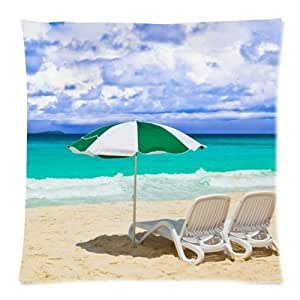 B Lyster shop Blue Sea #2369W Cotton & Polyester Soft Zippered Cushion Throw Case Pillow Case Cover