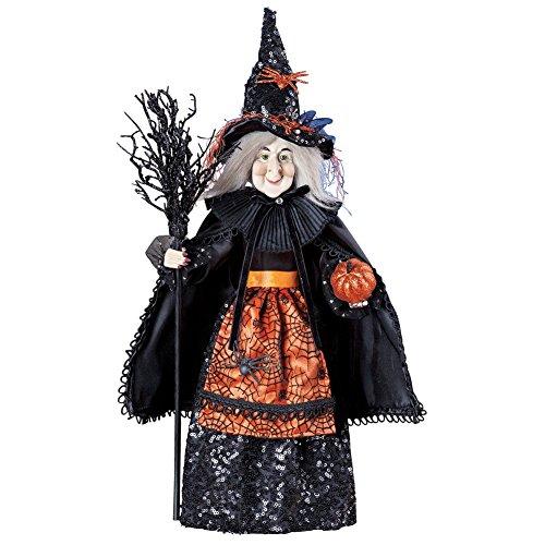 [Tabletop Halloween Witch Decoration] (Spirit Halloween Return Policy)