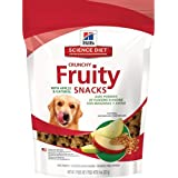 Hill's Science Diet 8 oz Crunchy Fruity Snacks with Apples and Oatmeal Dog Treat, Medium
