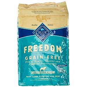 Blue Buffalo Freedom Grain Free Recipe for Dog, Large Breed Lamb Recipe, 24 lb 54