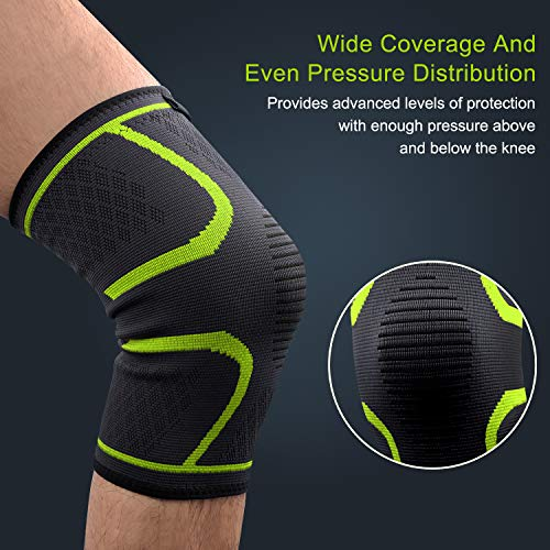 Beauty & Health Constructive Professional Adjustable Knee Brace Support Patella Sport Gel Pad Safety Guard Wrap Injury Recovery Black
