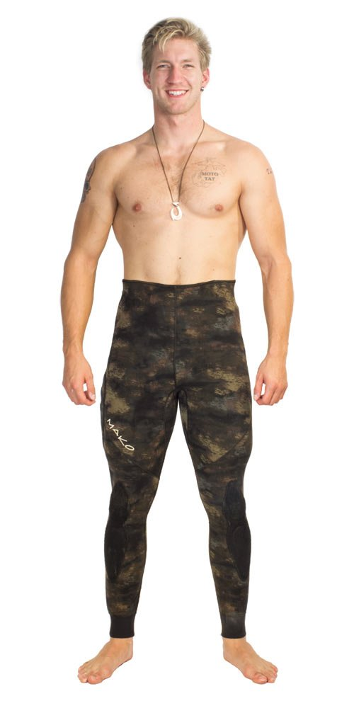 Amazon.com: Spearfishing traje de neopreno 3 mm 2 Pieza ...