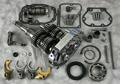 Ultima¨ 6-Speed Transmission Builders Kit, 1990 & Later Big Twins, 98-902 - Harley Davidson 6 Speed Transmission