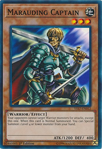 Marauding Captain - YS17-EN012 - Common - 1st Edition - Starter Deck: Link Strike (1st Edition) ()