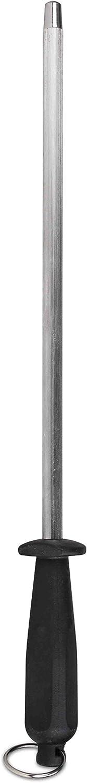 Home Basics Stainless Steel Knife Sharpener, One Size, Black