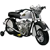 Little Vintage Indian Motorcycle, Black and White