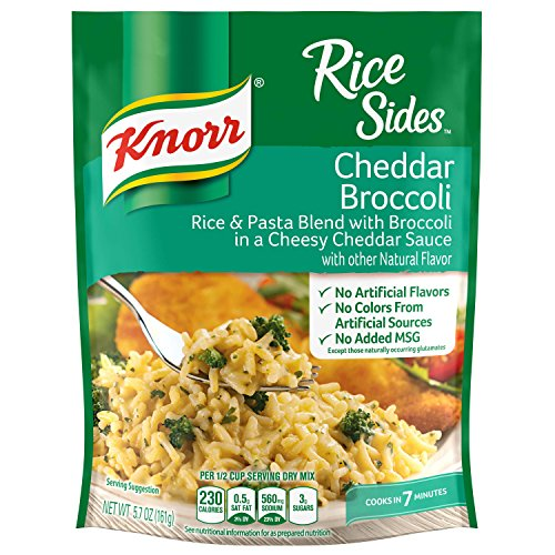 Knorr Rice Side Dish, Cheddar Broccoli, 5.7 oz