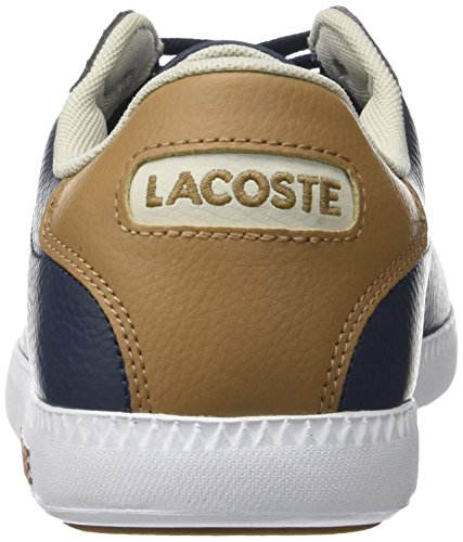 Graduate Nvy Blu Lcr3 Sneaker SPM 118 Lacoste Brw 1 Uomo Lt qfx8Tcd