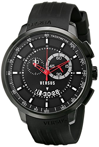 Versus-by-Versace-Mens-SGV110014-Manhattan-Black-Stainless-Steel-Watch-with-Rubber-Band