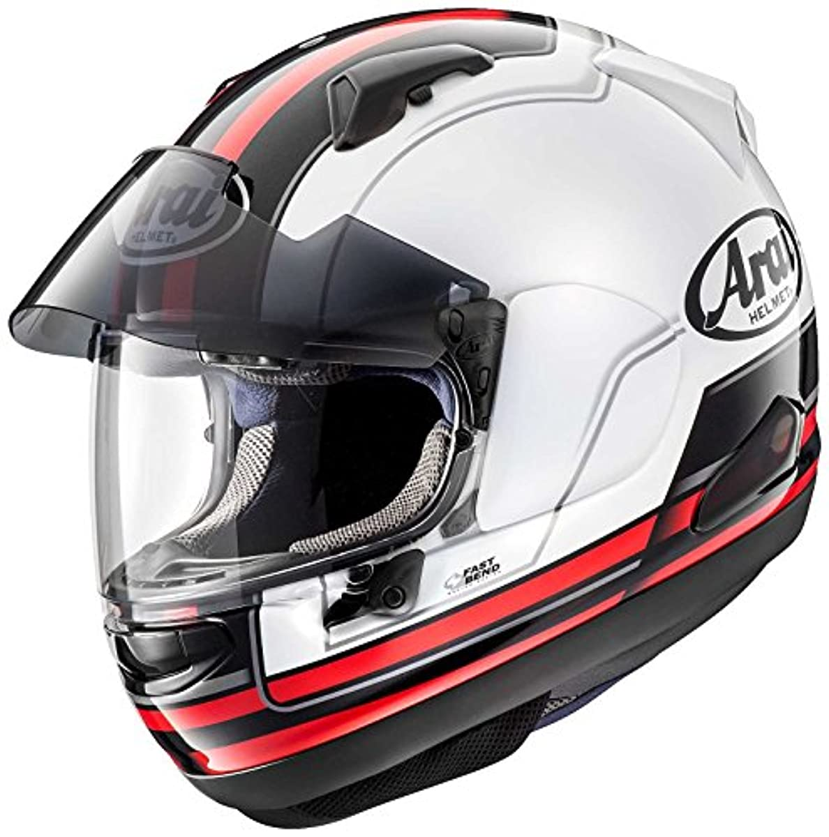 [해외] 아라이 (ARAI 아라이 헬멧) 풀 페이스 헬멧 아스 트럴-X 스테도(STINT) 레드 59-60CM (핀 그린 씨트120(클리어)부착) ASTRAL-X-STINT-RD59