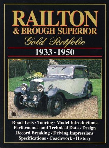 Railton & Brough Superior Gold Portfolio 1933-50