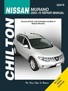 nissan murano 2003 thru 2010 all models haynes repair manual rh amazon com Nissan Murano Horn Replacement Nissan Murano Rear Suspension