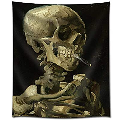 Pretty Handicraft, Premium Product, Head of a Skeleton with a Burning Cigarette by Vincent Van Gogh