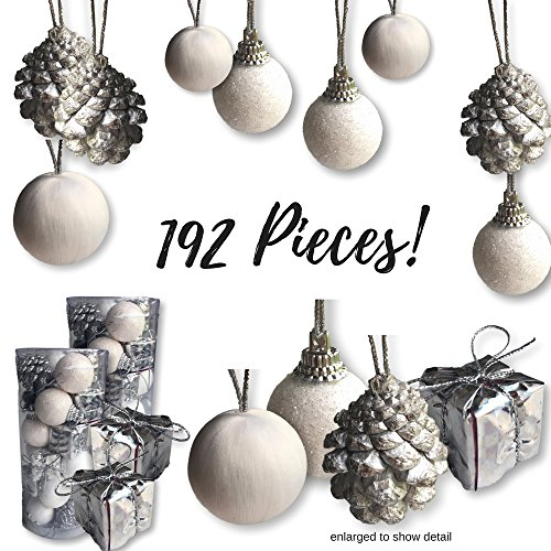 Mini Christmas Ornaments - Assorted Set of 192