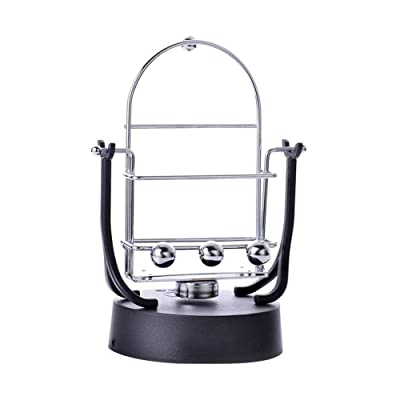 Desk Toys Rocker Creative Phone Holder Rotary Swing Balance Ball Electronic Perpetual Motion Machine Desktop Decoration : Baby