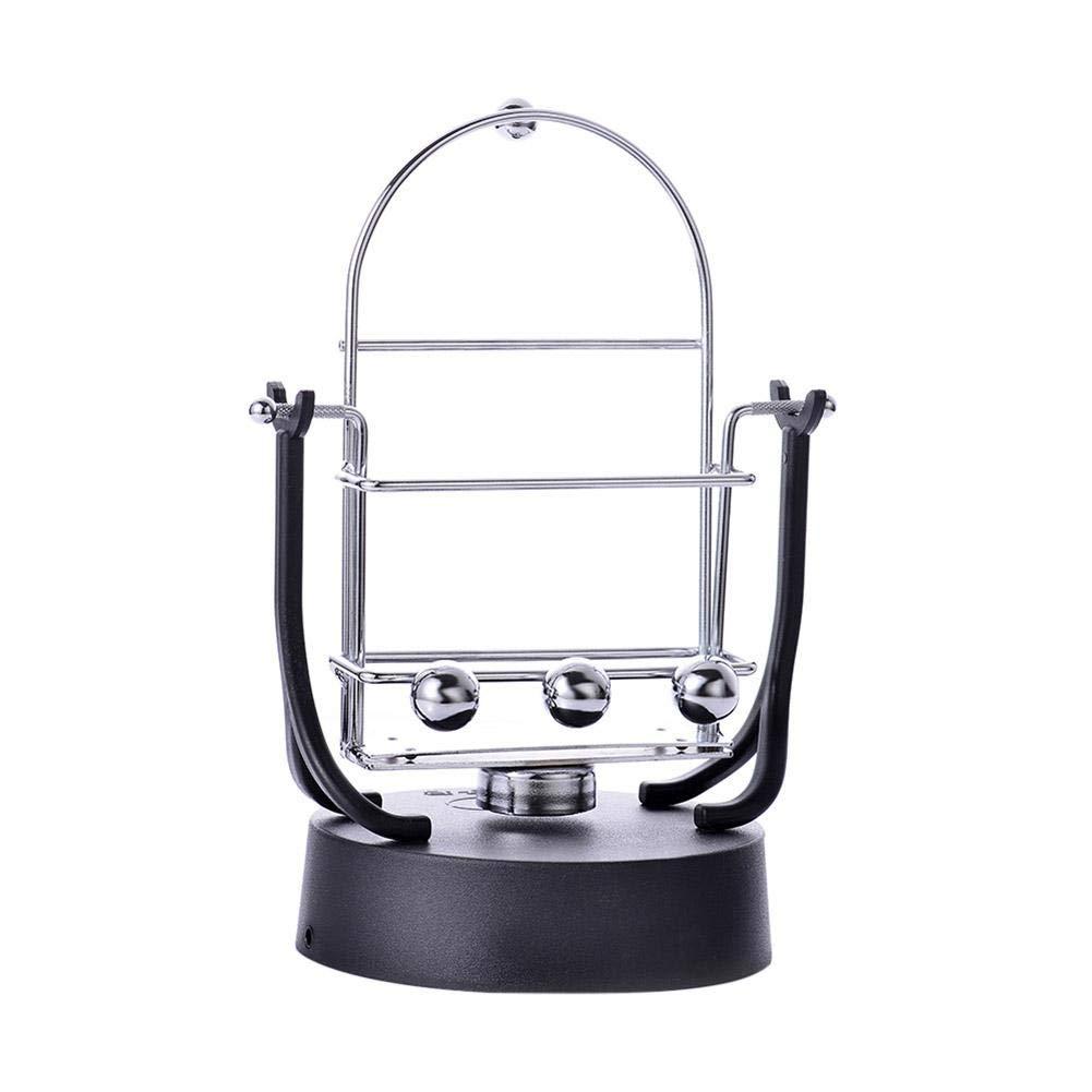 Desk Toys Rocker Creative Phone Holder Rotary Swing Balance Ball Electronic Perpetual Motion Machine Desktop Decoration