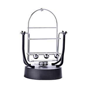 Office Desk Toys Rocker, Rotary Swing Balance Ball Electronic Perpetual Motion Machine Puzzle Toys for Adults