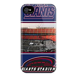Fashion Tpu Case For Iphone 4/4s- New York Giants Defender Case Cover