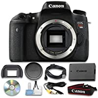 Canon EOS Rebel T6s Digital SLR Camera (Body Only) Wi-Fi Enabled - International Verison