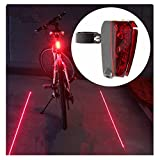 Cheap Candance Bicycle Taillight Tail Light Rechargeable Bike Rear LED Light with 5 LED 2 Beams