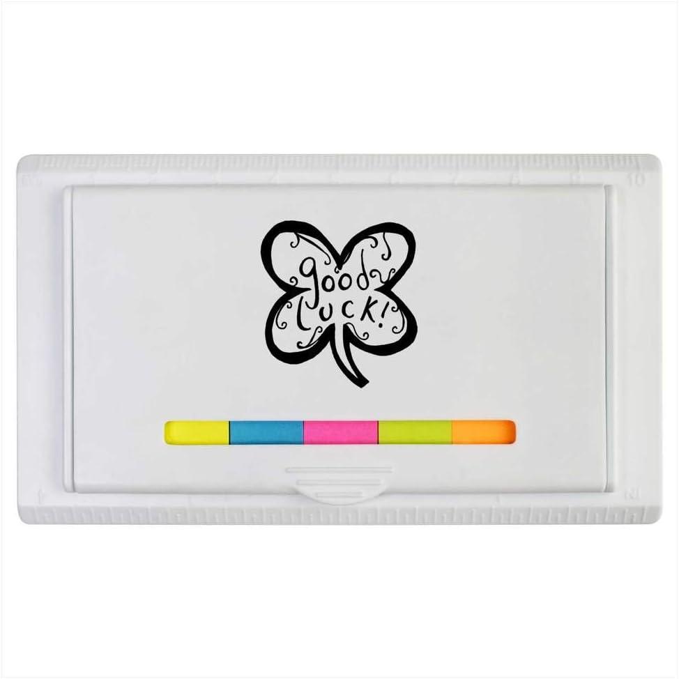 Azeeda Tr/èfle de Bonne Chance Bloc-Notes Collant ST00000136 r/ègle