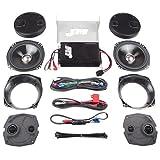 J&M Audio 4 Speaker and 400 Watt Amplifier Kit for 2006-2013 Harley-Davidson Ultra Classic Limited models - JHAK-HCU06-4004SP