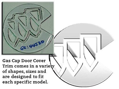 (QAA FITS Rainier 2004-2007 Buick (1 Pc: Stainless Steel Fuel/Gas Door Cover Accent Trim, 4-Door, SUV) GC44520)