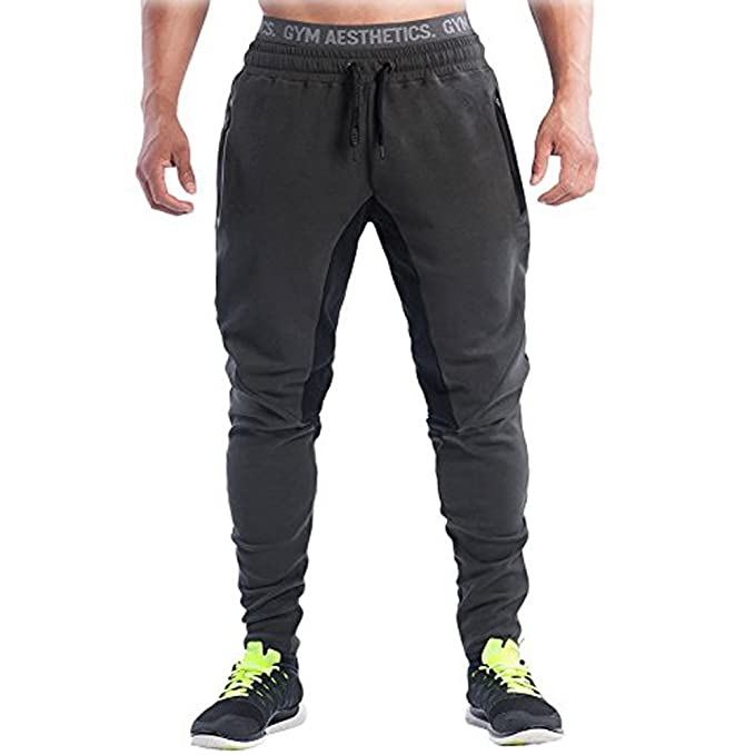 9d395fbd2e8fc Men's Joggers Pants Gym Sport Training Pants Fitness Running Trousers:  Amazon.ca: Clothing & Accessories
