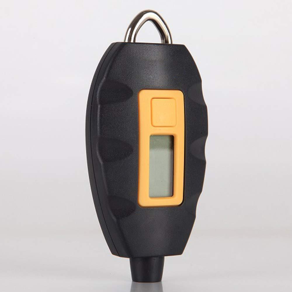 Festnight Schl/üsselanh/änger Universal Tragbare LCD Digital Elektrische Multifunktionsfahrzeug Reifendruck Tester Reifen Messger/ät