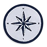Kitchen Rugs Dash and Albert Cape Island Round Bath Rug