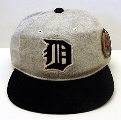 Detroit Tigers American Needle Statesman Strapback Snapback Style Hat