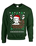 Allntrends Adult Sweatshirt A Girl Has No Ugly Christmas Sweater Hot Xmas Top (M, Forest Green)