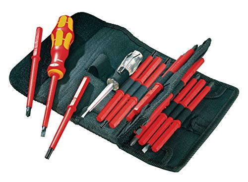 Wera 003474 Kraftform Kompakt VDE Interchangeable Screwdriver Set 16 Universal 1